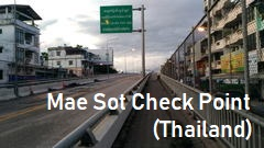 Myawady, Mae Sot Check Point