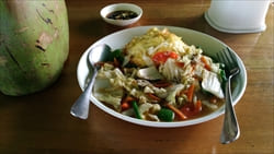 Sea Fun Restaurant タージン・ビーチ Thazin Beach Photo